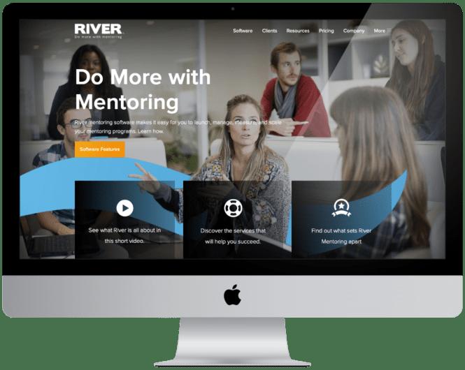 Website Design and Development River Mentoring