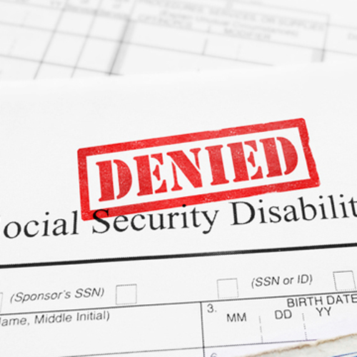 why was my disability claim denied