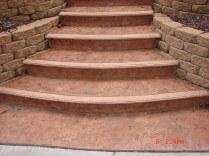 Stamped and colored concrete Milwaukee , Wisconsing Stamped Concrete, Paving, Residential, concrete