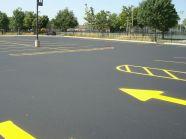 Parking lot Striping, Road Striping milwaukee,