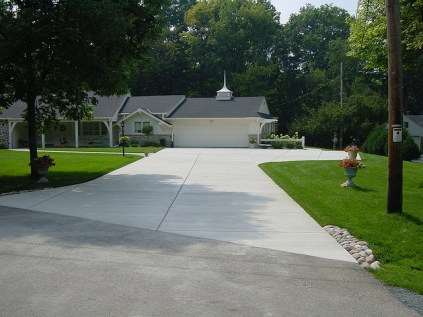 Concrete Driveway Paving, Paving, Milwaukee Paver, Milwaukee