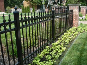 Wrought Iron Fence , Residential Fencing, Fences, Milwaukee, Fence, Milwaukee Fence