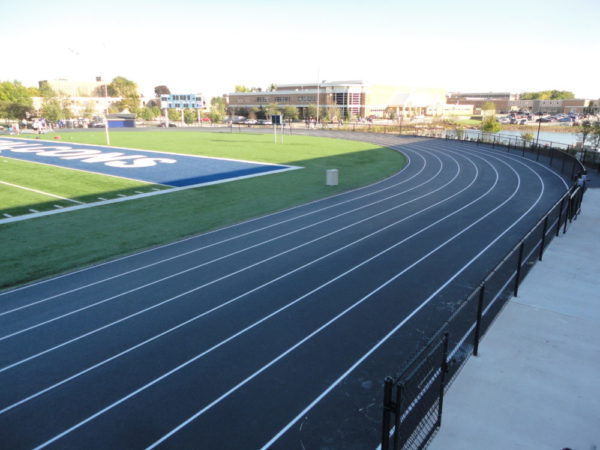 Running Track Construction, Milwaukee Running Track Paving, Sports Paving