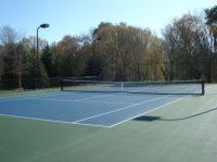 Tennis court construction milwaukee