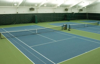 Wisconsin Tennis Court Construction, Indoor tennis court construction