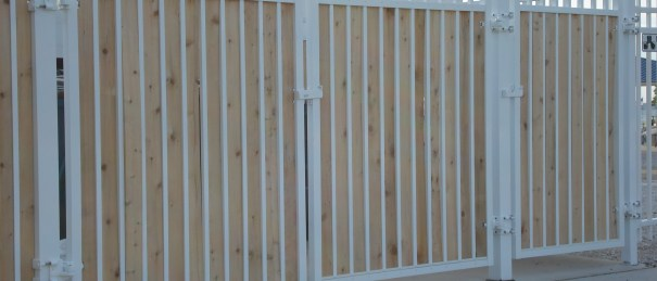Wooden Fences , Commerical Fencing, Milwaukee Commercial Fence Contractor