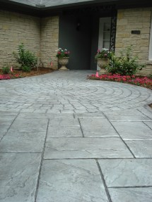 Stamped pavement contractor Wisconsin