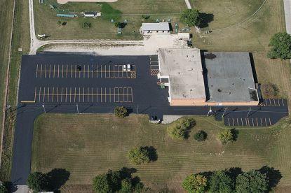 Parking Lot Striping, Milwaukee parking lot Striping,