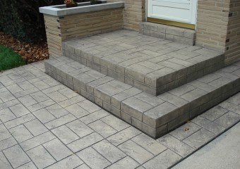 Stamped Concrete, Decorative Concrete, Colored Concrete, Milwaukee Decorative Concrete, paving
