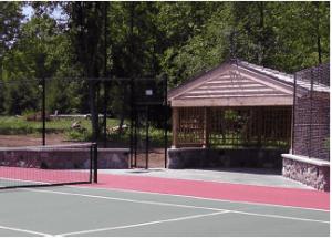 tennis court construction, Milwaukee, Tennis courts