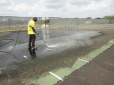 tennis court repair, surface repair, Tennis court