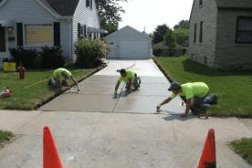 Concrete Paving, driveway paving, paving, Milwaukee