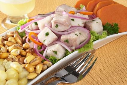 Das Peruanische Ceviche und seine Ernährungseigenschaften