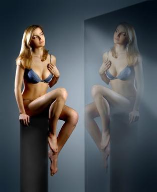 Korsetts und Hüftegürtel, Kleidungsstücke zum Abnehmen