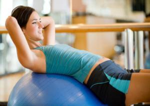 Bauch und Taille Übungen (Teil zwei)