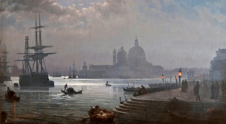 Paesaggi dAcqua Luci e riflessi nella pittura veneziana dellOttocento  Munus Munus