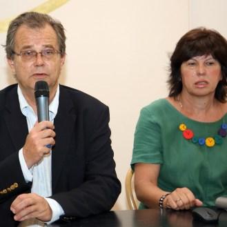 Miroslav Gašparović, ravnatelj i Vesna Lovrić Plantić, voditeljica projekta