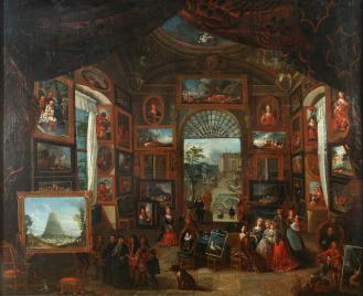 Balthasar van den Bosche (?), Antwerpen, 17. st., ulje na platnu, MUO 28