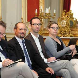 Članovi talijanske delegacije na predstavljanju Projecto Adriatico