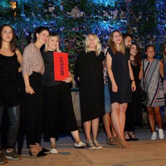 Ira Payer i tim projekta Design District Zagreb - dobitnici Velike nagrade HDD-a za 2016.