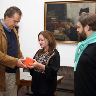 Miroslav Gašparović, Linda Pilkington i Ivan Lozić (Europeanetwork, izobrazba i posredništvo)