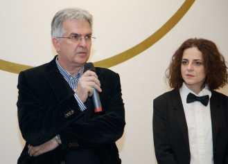 Denis Redić, direktor festivala Rovinj Photodays i Iva Prosoli, kustosica
