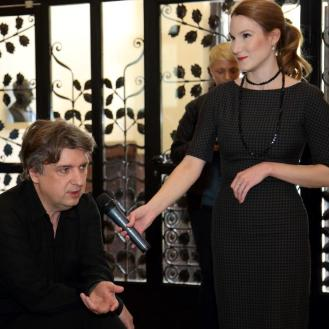 Marija Tonković i Aljoša Jurinić