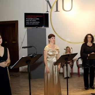 Ana Jembrek, Monika Cerovčec, Anabela Barić i Martina Borse, članice Ansambla Atiphonus