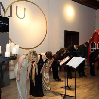 Završetak nastupa Ansambla Antiphonus u MUO