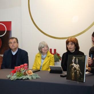 Miroslav Gašparović, Nela Tarbuk, Sanja Cvetnić i Danko Šourek