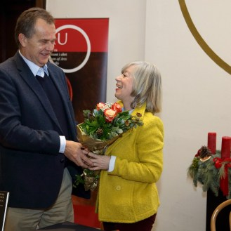 Miroslav Gašparović i Nela Tarbuk