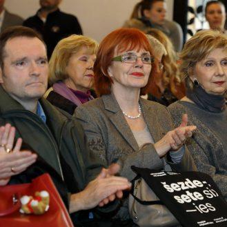 Veljko Mihalić, Vesna Kusin, Seadeta Midžić; Foto: Vedran Benović