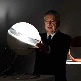 Alberto Squarcia, kustos izlozbe, Studio Archeo900