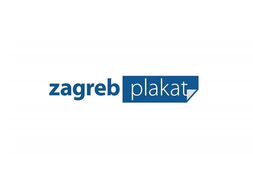 Zagreb plakat - Medijski pokrovitelj izložbe Šezdesete u Hrvatskoj