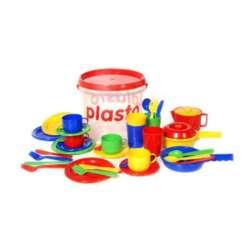 Plasto astiat sangossa