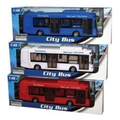 Bussi City 1:48 22 cm erilaisia