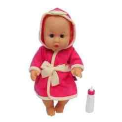Vauvanukke Emma 30 cm kylpytakilla Happy Friend
