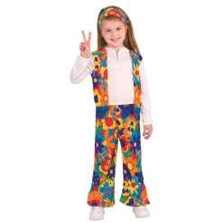 Hippi tyttö asu 3-4 vuotiaille