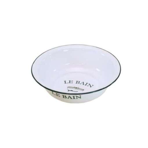 Emalinen vati 32 cm Le Bain