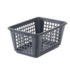 Pyykki- ja yleiskori 46 L harmaa