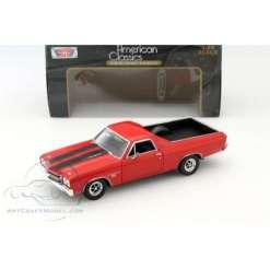 Chevy El Camino 1970 1:24 sininen