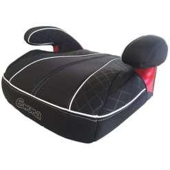 Istuinkoroke autoon + vyönalennin Emma musta nahkareunainen