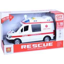 Ambulanssi 21 cm, ääni & valo