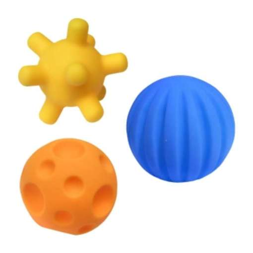Kylpylelu pallo 3 kpl Hencz