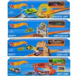 Hot Wheels temppusetti & auto