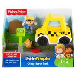 Fisher-Price ajoneuvo taksi Little People