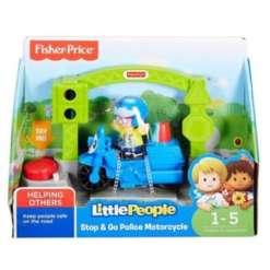Fisher-Price ajoneuvo poliisimopo Little People