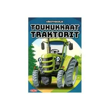 Värityskirja Touhukkaat traktorit