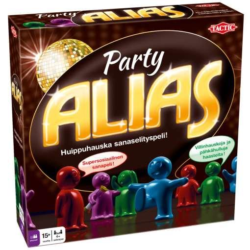 Alias Party Lautapeli Tactic