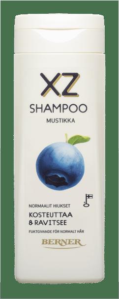 Shampoo 2,5 dl mustikka